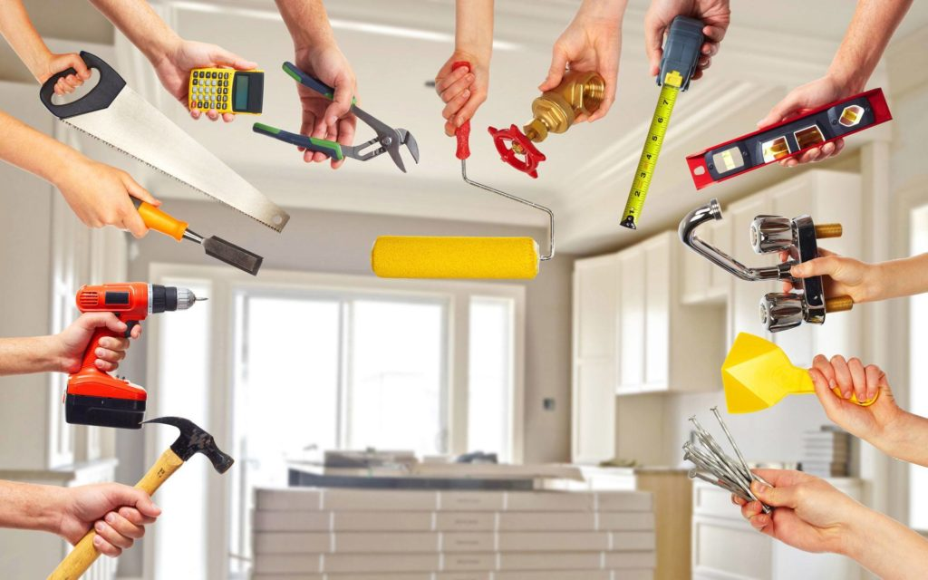 Виды ремонта мебели